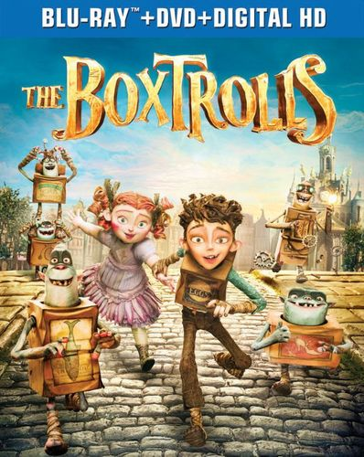 The Boxtrolls [2 Discs] [Includes Digital Copy] [UltraViolet] [Blu-ray/DVD] [2014] 9080277