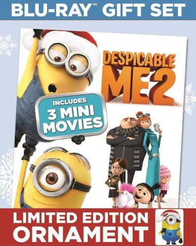 Despicable Me 2/3 Mini Movies [2 Discs] [With Limited Edition Ornament] [Blu-ray] 9090549