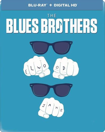 The Blues Brothers [Limited Edition] [Includes Digital Copy] [UltraViolet] [SteelBook] [Blu-ray] [1980] 9090567