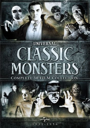 Universal Classic Monsters: Complete 30-Film Collection 1931-1956 [21 Discs] [DVD] 9090620