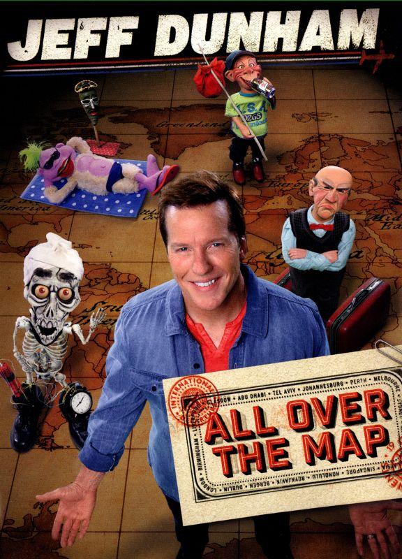 Jeff Dunham: All Over the Map [DVD] [2014] 9093132
