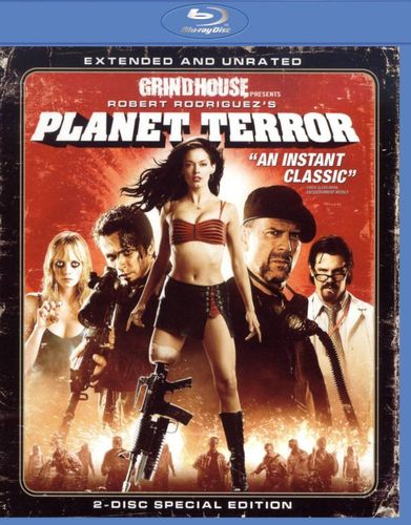 Planet Terror [2 Discs] [Blu-ray] [2007] 9110561