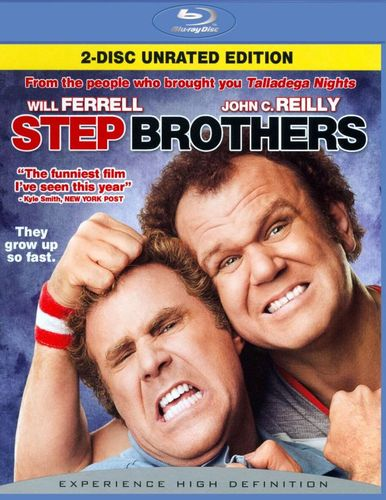 Step Brothers [WS] [Unrated/Rated] [2 Discs] [Blu-ray] [2008] 9123307