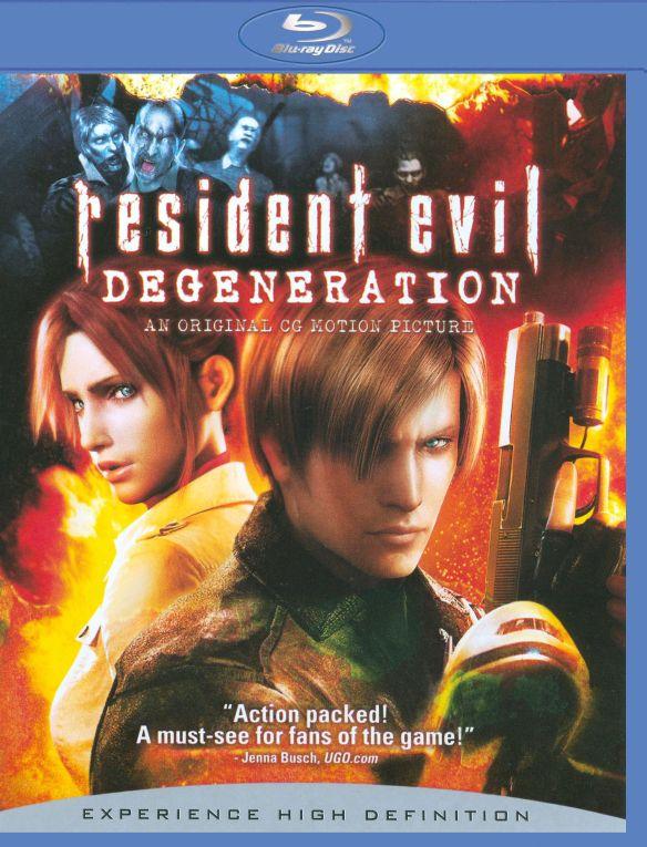 Resident Evil: Degeneration [Blu-ray] [2008] 9123325