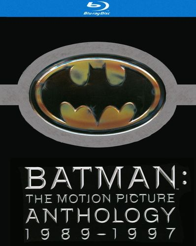 Batman: The Motion Picture Anthology 1989-1997 [5 Discs] [Includes Digital Copy] [Blu-ray] 9123842