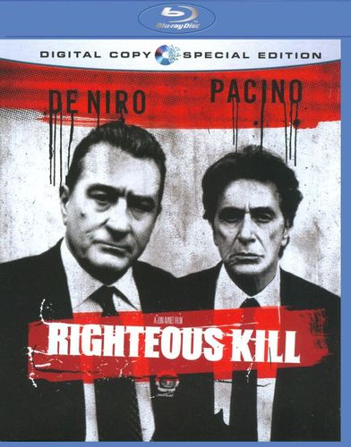 Righteous Kill [Blu-ray] [Includes Digital Copy] [2008] 9124404