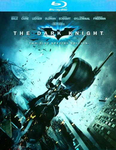 The Dark Knight [WS] [2 Discs] [Blu-ray] [2008] 9124743