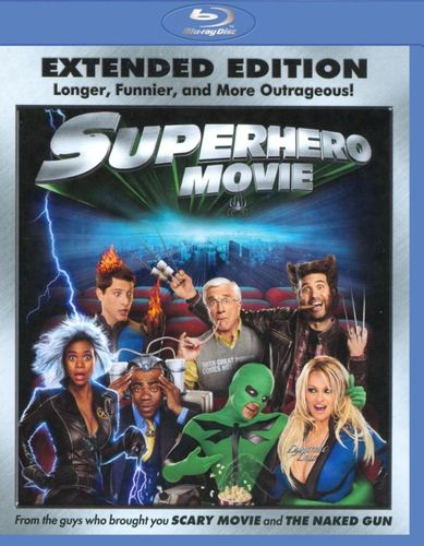 Superhero Movie [WS] [Unrated] [Extended Edition] [Blu-ray] [2008] 9124949