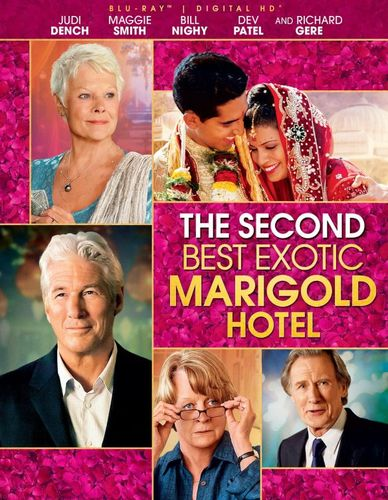 The Second Best Exotic Marigold Hotel [Blu-ray] [2015] 9128086