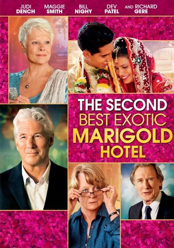 The Second Best Exotic Marigold Hotel [DVD] [2015] 9128095