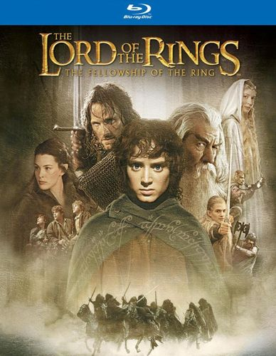 The Lord of the Rings: The Fellowship of the Ring [SteelBook] [Blu-ray] [2001] 9136069