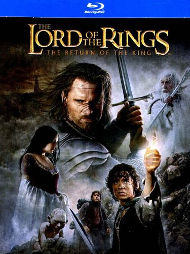 The Lord of the Rings: The Return of the King [SteelBook] [Blu-ray] [2003] 9136306