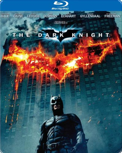 The Dark Knight [SteelBook] [Blu-ray] [2008] 9136397