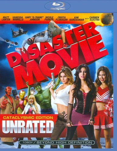 Disaster Movie [WS] [Unrated] [Blu-ray] [2008] 9139666