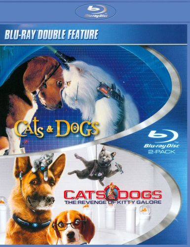 Cats & Dogs/Cats & Dogs: The Revenge of Kitty Galore [Blu-ray] 9143183