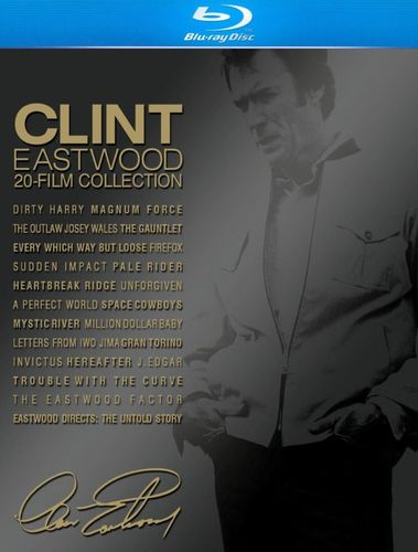Clint Eastwood: 20-Film Collection [22 Discs] [With Book] [Blu-ray] 9143217