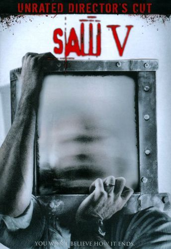 Saw V [WS] [Unrated] [Director's Cut] [DVD] [2008] 9146417