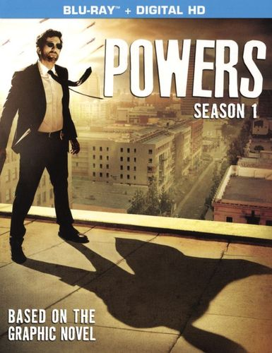 Powers: Season 1 [UltraViolet] [Includes Digital Copy] [3 Discs] [Blu-ray] 9149031