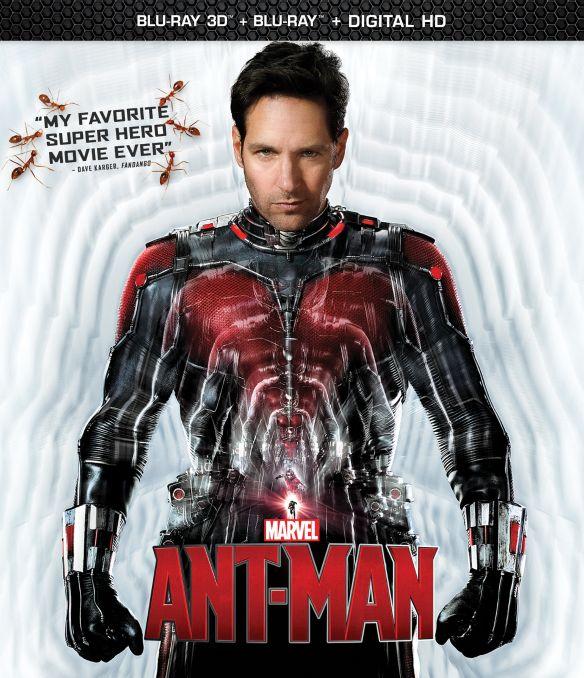 Marvel's Ant-Man [3D] [Includes Digital Copy] [Blu-ray] [2 Discs] [Blu-ray/Blu-ray 3D] [2015] 9157031