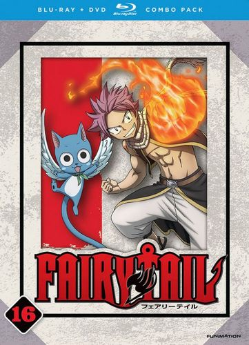 Fairy Tail: Part 16 [Blu-ray/DVD] 9158058