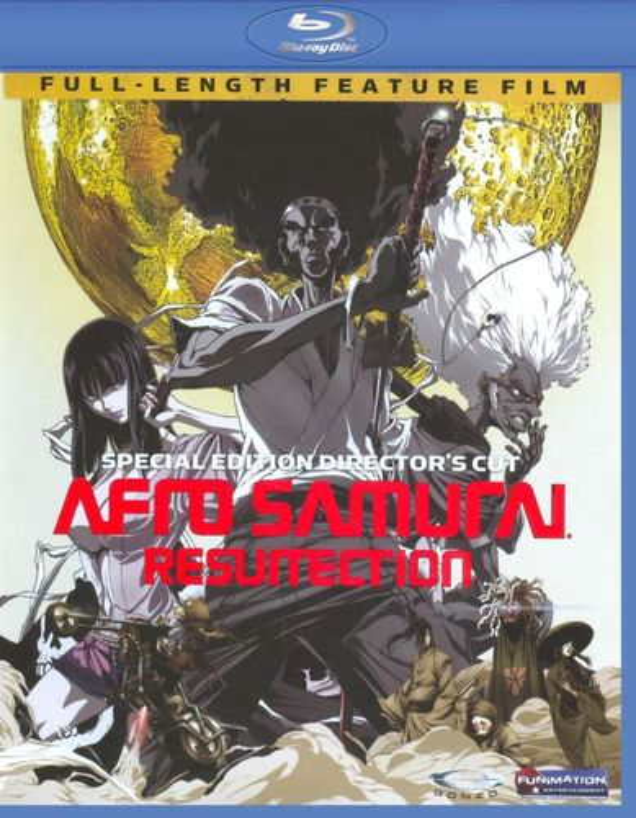 Afro Samurai: Resurrection [Director's Cut] [Blu-ray] [2008] 9161159