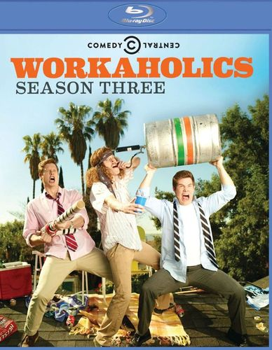 Workaholics: Season Three [2 Discs] [Blu-ray] 9172294