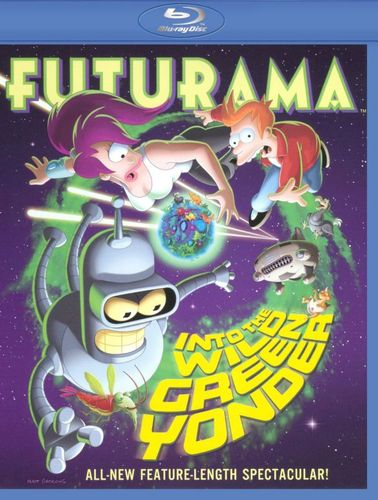 Futurama: Into the Wild Green Yonder [Blu-ray] 9172325