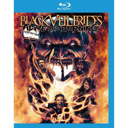 Alive and Burning [Video] [Blu-Ray Disc] 9177155