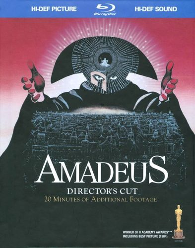 Amadeus: Director's Cut [With CD] [Blu-ray] [1984] 9186935