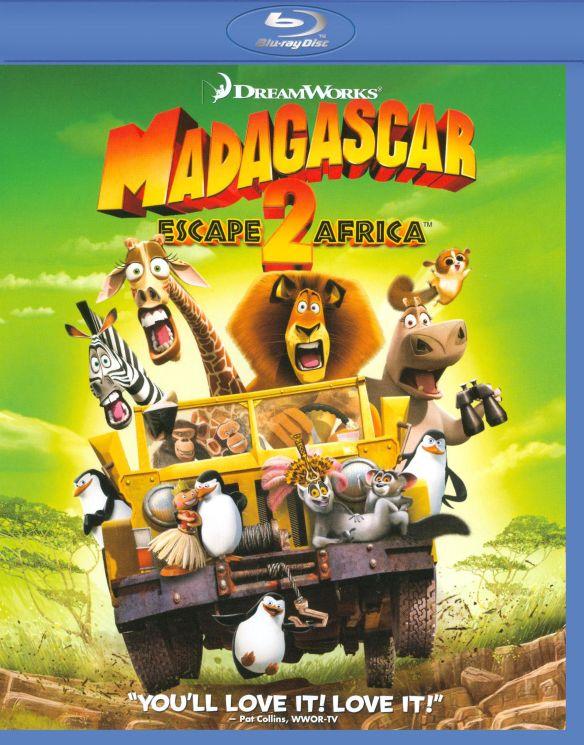 Madagascar: Escape 2 Africa [WS] [Blu-ray] [2008] 9197987