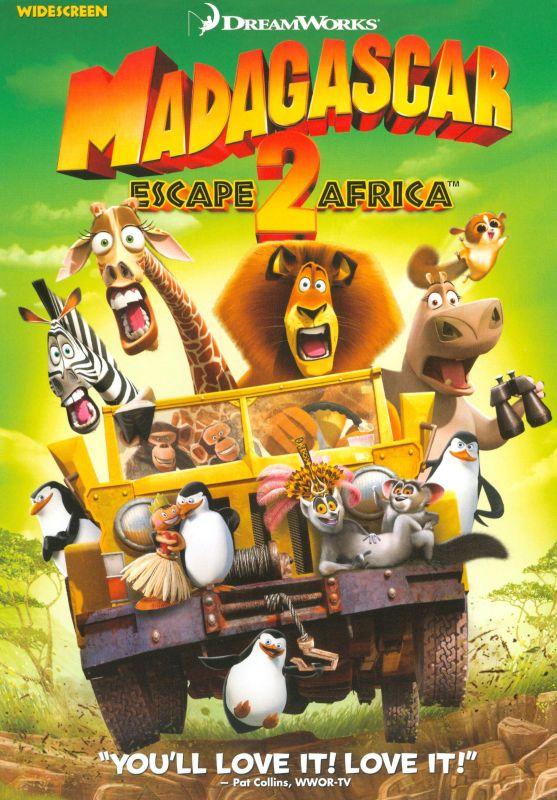 Madagascar: Escape 2 Africa [WS] [DVD] [2008] 9197996