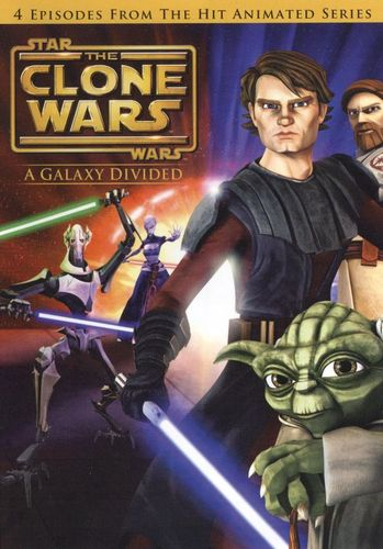 Star Wars: The Clone Wars - A Galaxy Divided [DVD] 9214316