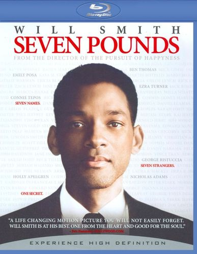 Seven Pounds [Blu-ray] [Includes Digital Copy] [2008] 9214361