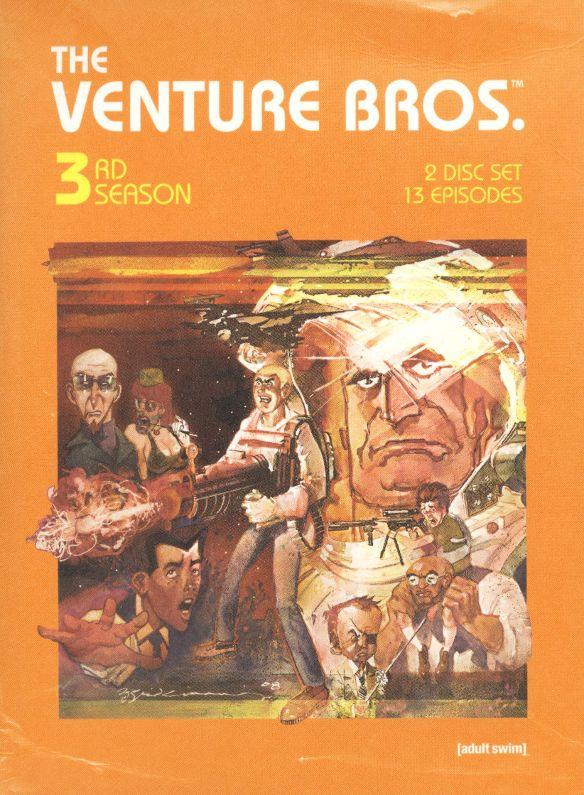 The Venture Bros.: Season Three [2 Discs] [DVD] 9222174