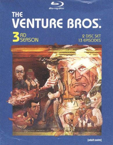 The Venture Bros.: Season Three [2 Discs] [Blu-ray] 9222192