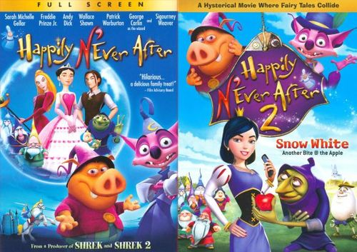 Happily N'Ever After/Happily N'Ever After 2 [2 Discs] [DVD] 9222799