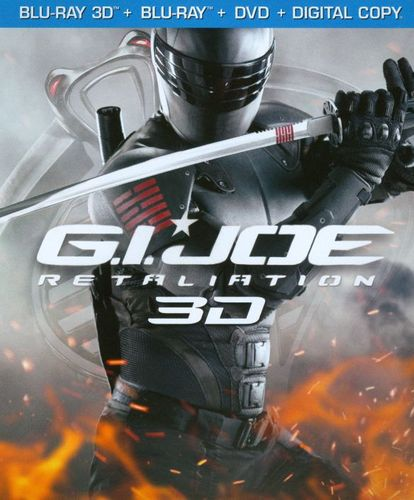 G.I. Joe: Retaliation [3 Discs] [Includes Digital Copy] [UltraViolet] [3D] [Blu-ray/DVD] [Blu-ray/Blu-ray 3D/DVD] [2013] 9231045