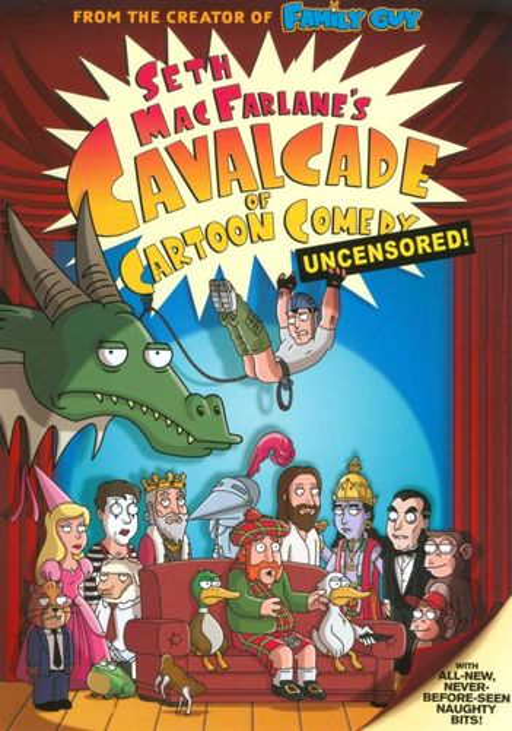 Seth MacFarlane's Cavalcade of Cartoon Comedy [Unrated] [DVD] [2009] 9246121