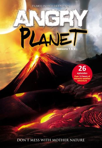 Angry Planet: Seasons 1 & 2 [5 Discs] [DVD] 9249021