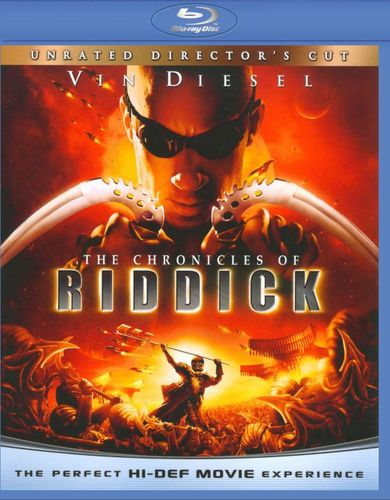 The Chronicles of Riddick [Blu-ray] [2004] 9250829