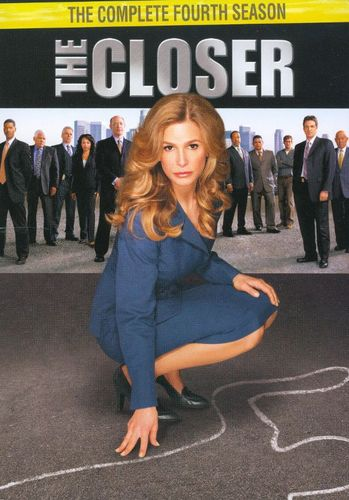 The Closer: The Complete Fourth Season [4 Discs] [DVD] 9253559