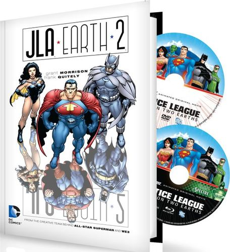 Justice League: Crisis on Two Earths [With Justice League Adventures Earth2 Book] [Blu-ray] [2010] 9260082