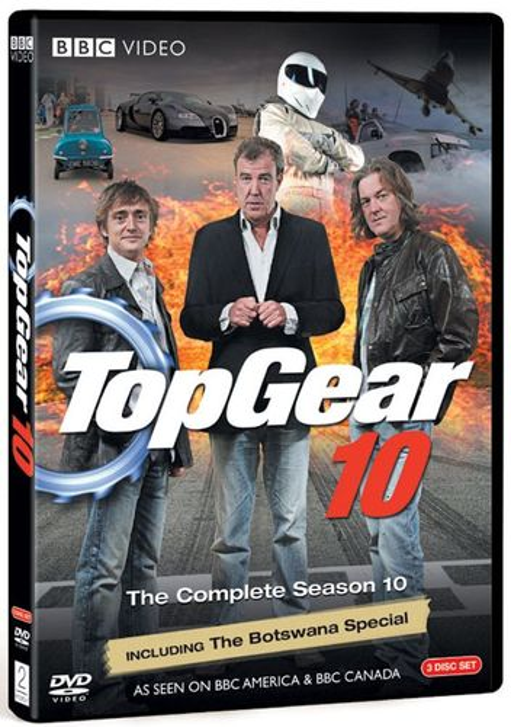 Top Gear: The Complete Season 10 [3 Discs] [DVD] 9261988