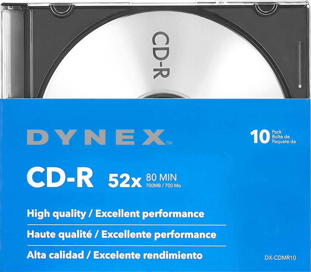 Dynex™ DX-CDMR10 largeFrontImage