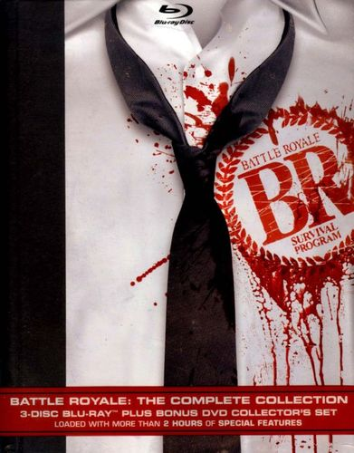Battle Royale: The Complete Collection [4 Discs] [Blu-ray/DVD] 9282044