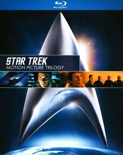 Star Trek: Motion Picture Trilogy [3 Discs] [Blu-ray] 9295292