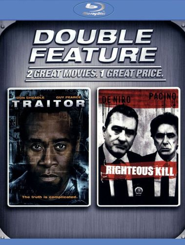 Righteous Kill/Traitor [Blu-ray] 9307412