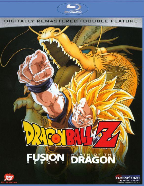 DragonBall Z: Fusion Reborn/Wrath of Dragon [Blu-ray] 9307895