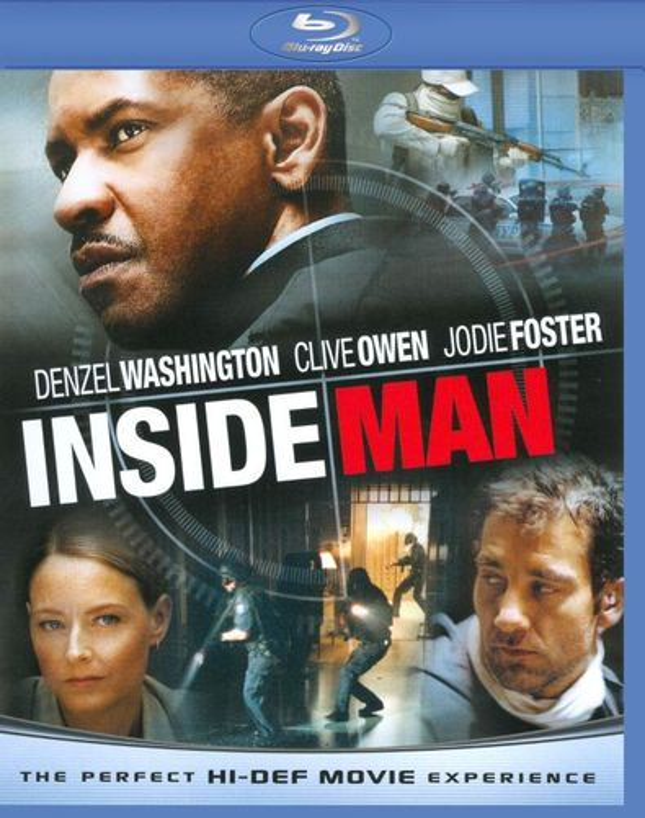 Inside Man [WS] [Blu-ray] [2006] 9308313