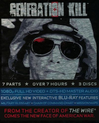 Generation Kill [3 Discs] [Blu-ray] 9311489